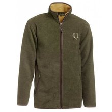 Chevalier Mainstone Fleece Cardigan greenmelange Herren