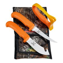 Outdoor Edge Blaze N Bone Messerset orange 4-teilig