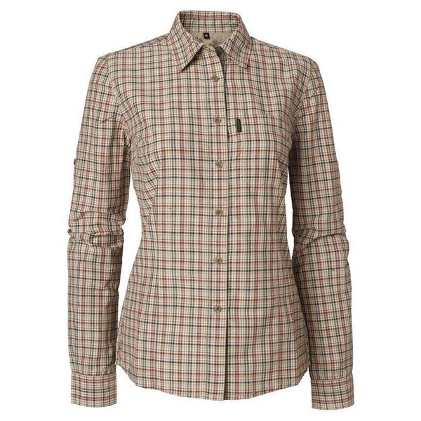 Chevalier Henriette Coolmax® Bluse Checked Damen