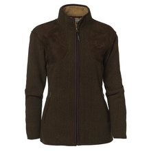 Chevalier Belcher Fleece Cardigan braun Damen