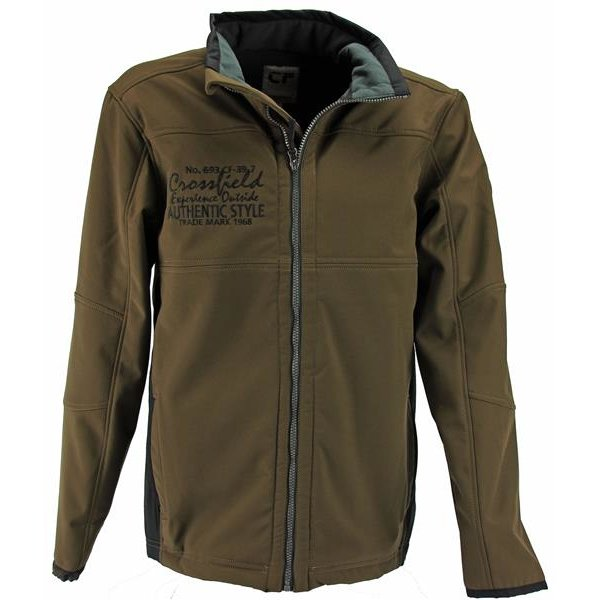 authentical softshell jacke