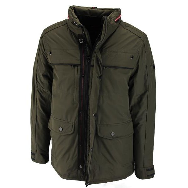 Crossfield Wood Funktionsjacke oliv Herren