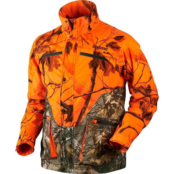 Seeland Excur Jagdjacke orange-camo Herren