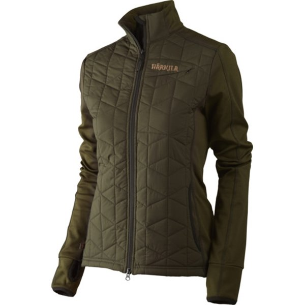 Härkila Hjartvar Insulated Hybrid Jacke willow green Damen