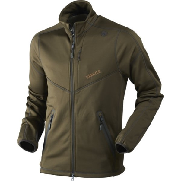 Härkila Norfell full zip Fleece grün Herren