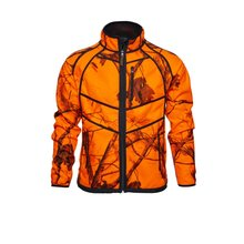 Seeland Kraft Reversible Fleece Jacke braun/orange Herren