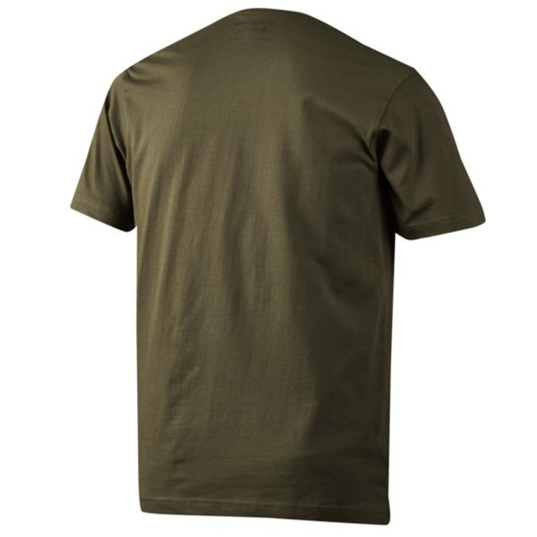 Seeland Basic T-Shirt 3er-Pack pine green/ faun major braun Herren