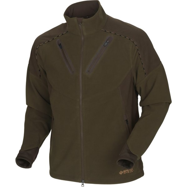 Härkila Mountain Hunter Fleecejacke hunting grün/shadow braun Herren