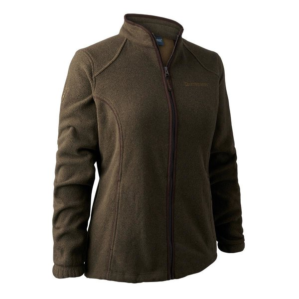Deerhunter Lady Josephine Fleece-Jacke grün Damen