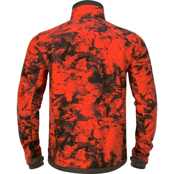 Härkila Wildboar Pro reversible Fleecejacke orange/grün Herren